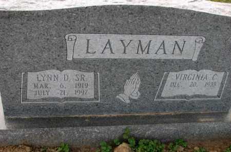 LAYMAN, SR., LYNN - Poinsett County, Arkansas | LYNN LAYMAN, SR. - Arkansas Gravestone Photos