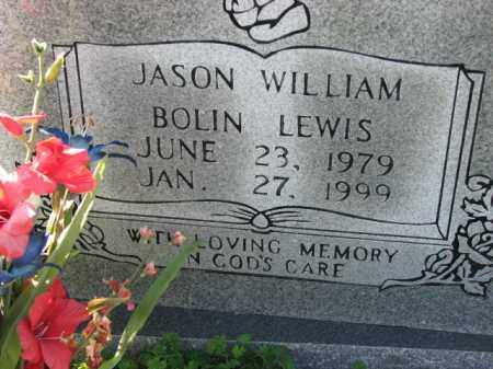 LEWIS, JASON WILLIAM BOLIN - Poinsett County, Arkansas | JASON WILLIAM BOLIN LEWIS - Arkansas Gravestone Photos