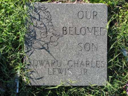 LEWIS, JR., EDWARD CHARLES - Poinsett County, Arkansas | EDWARD CHARLES LEWIS, JR. - Arkansas Gravestone Photos