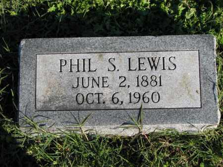 LEWIS, PHIL S. - Poinsett County, Arkansas | PHIL S. LEWIS - Arkansas Gravestone Photos