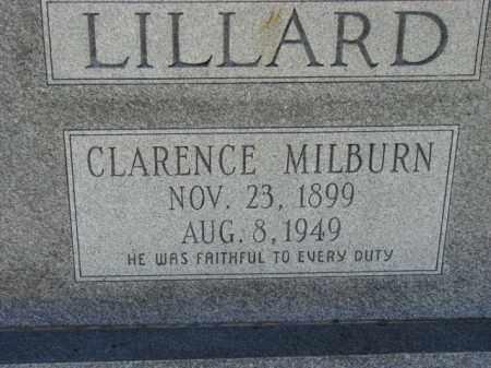 LILLARD, CLARENCE MILBURN - Poinsett County, Arkansas | CLARENCE MILBURN LILLARD - Arkansas Gravestone Photos