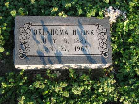 LINK, OKLAHOMA H. - Poinsett County, Arkansas | OKLAHOMA H. LINK - Arkansas Gravestone Photos