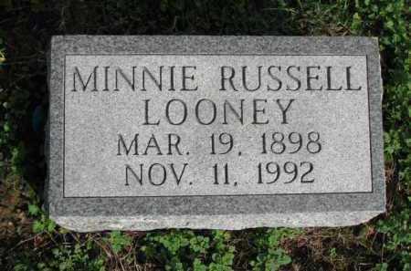 LOONEY, MINNIE - Poinsett County, Arkansas | MINNIE LOONEY - Arkansas Gravestone Photos