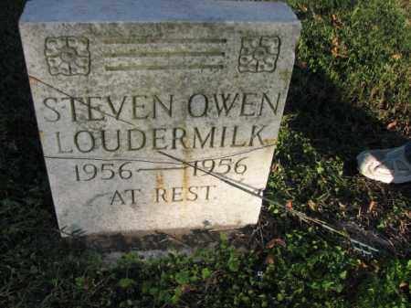 LOUDERMILK, STEVEN OWEN - Poinsett County, Arkansas | STEVEN OWEN LOUDERMILK - Arkansas Gravestone Photos