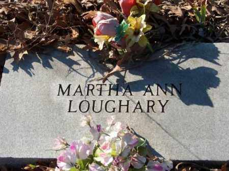 LOUGHARY, MARTHA - Poinsett County, Arkansas | MARTHA LOUGHARY - Arkansas Gravestone Photos
