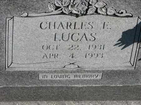 LUCAS, CHARLES E. - Poinsett County, Arkansas | CHARLES E. LUCAS - Arkansas Gravestone Photos