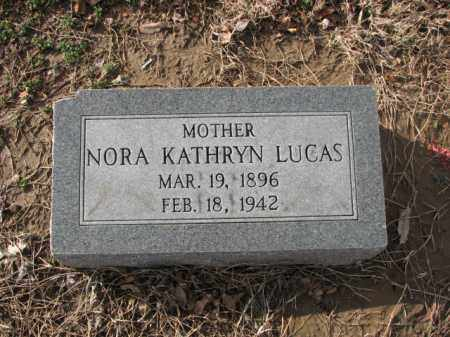 LUCAS, NORA KATHRYN - Poinsett County, Arkansas | NORA KATHRYN LUCAS - Arkansas Gravestone Photos