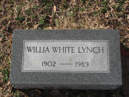 LYNCH, WILLIAM WHITE - Poinsett County, Arkansas | WILLIAM WHITE LYNCH - Arkansas Gravestone Photos