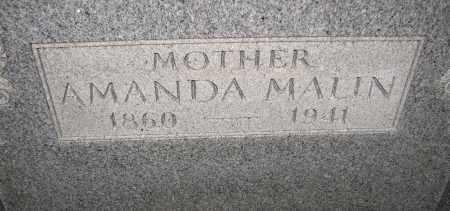 MALIN, AMANDA - Poinsett County, Arkansas | AMANDA MALIN - Arkansas Gravestone Photos