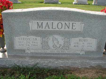 MALONE, SR., LEROY - Poinsett County, Arkansas | LEROY MALONE, SR. - Arkansas Gravestone Photos