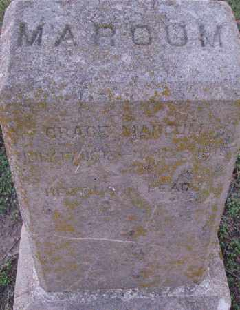 MARCUM, GRACE - Poinsett County, Arkansas | GRACE MARCUM - Arkansas Gravestone Photos