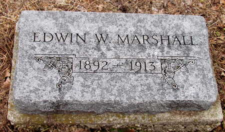 MARSHALL, EDWIN W. - Poinsett County, Arkansas | EDWIN W. MARSHALL - Arkansas Gravestone Photos