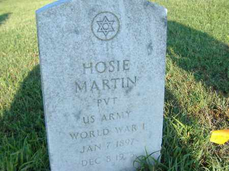 MARTIN  (VETERAN WWI), HOSIE - Poinsett County, Arkansas | HOSIE MARTIN  (VETERAN WWI) - Arkansas Gravestone Photos