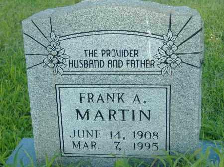 MARTIN, FRANK A - Poinsett County, Arkansas | FRANK A MARTIN - Arkansas Gravestone Photos