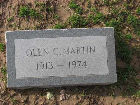 MARTIN, OLEN C. - Poinsett County, Arkansas | OLEN C. MARTIN - Arkansas Gravestone Photos