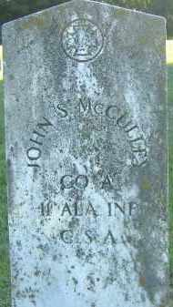 MCCULLEY  (VETERAN CSA), JOHN S. - Poinsett County, Arkansas | JOHN S. MCCULLEY  (VETERAN CSA) - Arkansas Gravestone Photos