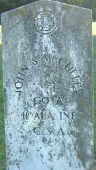 MCCULLEY  (VETERAN CSA), JOHN S. - Poinsett County, Arkansas   JOHN S. MCCULLEY  (VETERAN CSA) - Arkansas Gravestone Photos