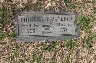 MCALPIN, PHINEAS B. - Poinsett County, Arkansas | PHINEAS B. MCALPIN - Arkansas Gravestone Photos