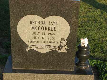 MCCORKLE, BRENDA FAYE - Poinsett County, Arkansas | BRENDA FAYE MCCORKLE - Arkansas Gravestone Photos