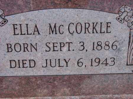 MCCORKLE, ELLA - Poinsett County, Arkansas | ELLA MCCORKLE - Arkansas Gravestone Photos