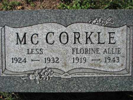 MCCORKLE, LESS - Poinsett County, Arkansas | LESS MCCORKLE - Arkansas Gravestone Photos