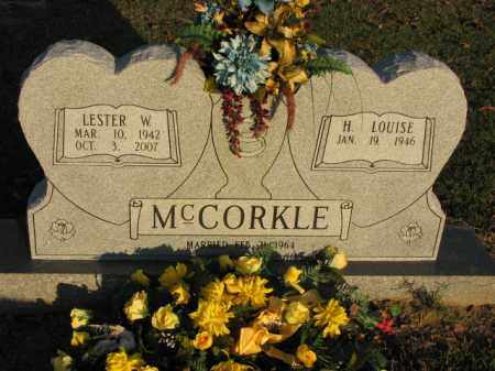 MCCORKLE, LESTER W. - Poinsett County, Arkansas | LESTER W. MCCORKLE - Arkansas Gravestone Photos