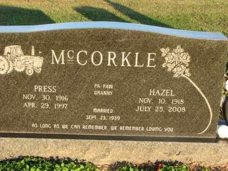 MCCORKLE, HAZEL - Poinsett County, Arkansas | HAZEL MCCORKLE - Arkansas Gravestone Photos
