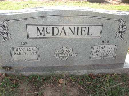 MCDANIEL, CHARLES G. - Poinsett County, Arkansas | CHARLES G. MCDANIEL - Arkansas Gravestone Photos
