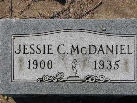 MCDANIEL, JESSIE C. - Poinsett County, Arkansas | JESSIE C. MCDANIEL - Arkansas Gravestone Photos