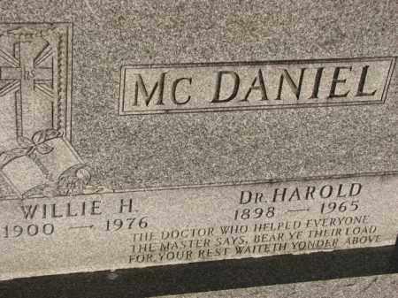 MCDANIEL, HAROLD - Poinsett County, Arkansas | HAROLD MCDANIEL - Arkansas Gravestone Photos