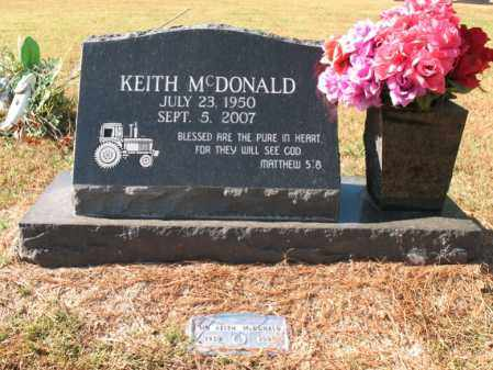 MCDONALD, KEITH - Poinsett County, Arkansas | KEITH MCDONALD - Arkansas Gravestone Photos