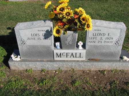 MCFALL, LLOYD E. - Poinsett County, Arkansas | LLOYD E. MCFALL - Arkansas Gravestone Photos