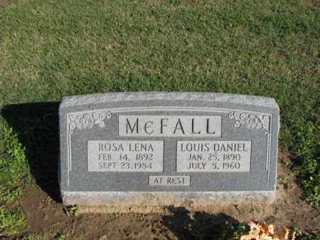 MCFALL, LOUIS DANIEL - Poinsett County, Arkansas | LOUIS DANIEL MCFALL - Arkansas Gravestone Photos