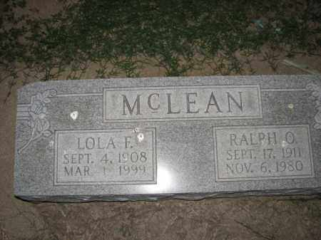 MCLEAN, LOLA F. - Poinsett County, Arkansas | LOLA F. MCLEAN - Arkansas Gravestone Photos