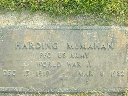MCMAHAN  (VETERAN WWII), HARDING - Poinsett County, Arkansas | HARDING MCMAHAN  (VETERAN WWII) - Arkansas Gravestone Photos