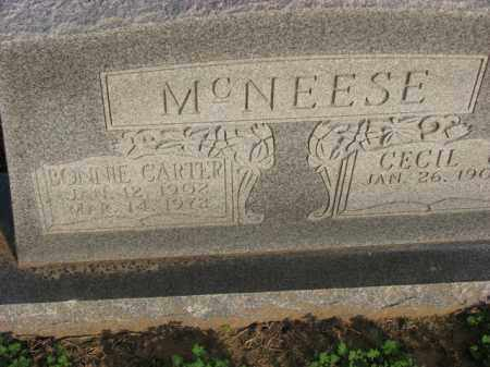 MCNEESE, BONNIE - Poinsett County, Arkansas | BONNIE MCNEESE - Arkansas Gravestone Photos