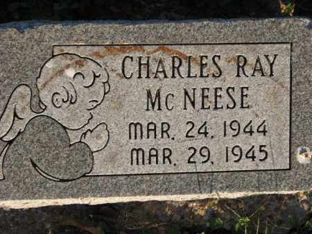 MCNEESE, CHARLES RAY - Poinsett County, Arkansas | CHARLES RAY MCNEESE - Arkansas Gravestone Photos