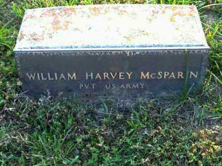 MCSPARIN  (VETERAN WWII), WILLIAM HENRY - Poinsett County, Arkansas | WILLIAM HENRY MCSPARIN  (VETERAN WWII) - Arkansas Gravestone Photos