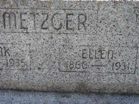 METZGER, ELLEN - Poinsett County, Arkansas | ELLEN METZGER - Arkansas Gravestone Photos