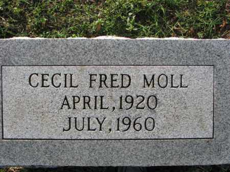MOLL, CECIL FRED - Poinsett County, Arkansas | CECIL FRED MOLL - Arkansas Gravestone Photos