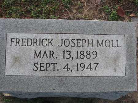 MOLL, FREDRICK JOSEPH - Poinsett County, Arkansas | FREDRICK JOSEPH MOLL - Arkansas Gravestone Photos