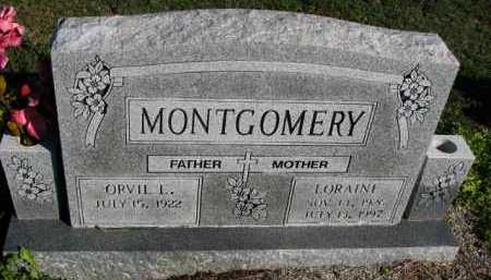 MONTGOMERY, LORAINE - Poinsett County, Arkansas | LORAINE MONTGOMERY - Arkansas Gravestone Photos