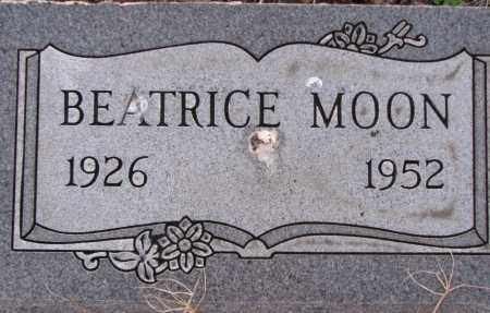 MOON, BEATRICE - Poinsett County, Arkansas | BEATRICE MOON - Arkansas Gravestone Photos