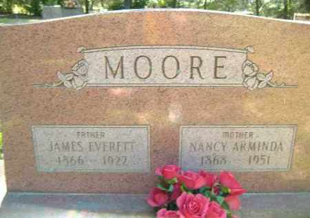 MOORE, JAMES EVERETT - Poinsett County, Arkansas | JAMES EVERETT MOORE - Arkansas Gravestone Photos