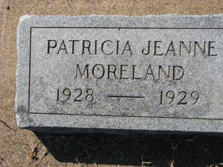 MORELAND, PATRICIA JEANNE - Poinsett County, Arkansas | PATRICIA JEANNE MORELAND - Arkansas Gravestone Photos