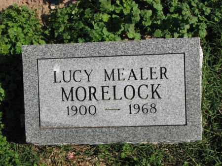 MEALER MORELOCK, LUCY - Poinsett County, Arkansas | LUCY MEALER MORELOCK - Arkansas Gravestone Photos