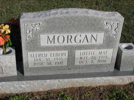 MORGAN, ALFRED ELBERT - Poinsett County, Arkansas | ALFRED ELBERT MORGAN - Arkansas Gravestone Photos