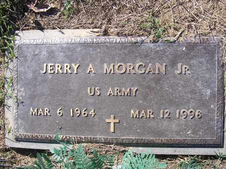 MORGAN, JR (VETERAN), JERRY A - Poinsett County, Arkansas | JERRY A MORGAN, JR (VETERAN) - Arkansas Gravestone Photos
