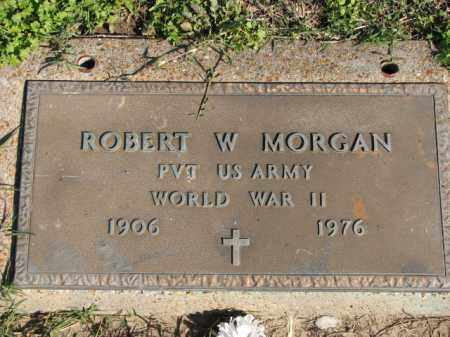 MORGAN (VETERAN WWII), ROBERT W - Poinsett County, Arkansas | ROBERT W MORGAN (VETERAN WWII) - Arkansas Gravestone Photos