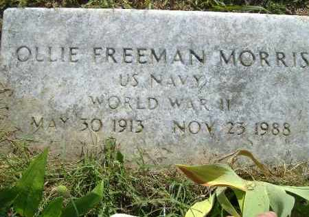 MORRIS  (VETERAN WWII), OLLIE FREEMAN - Poinsett County, Arkansas | OLLIE FREEMAN MORRIS  (VETERAN WWII) - Arkansas Gravestone Photos